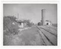 Atchison, Topeka & Santa Fe Railway Company's shed depot, Hall's Summit, Kansas - 1