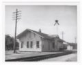 Atchison, Topeka and Santa Fe Railway Company depot, Colony, Kansas - 1