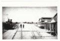 Atchison, Topeka & Santa Fe Railway Company depot, Albuquerque, New Mexico, - 1