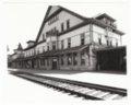 Atchison, Topeka & Santa Fe Railway Company depot, Fred Harvey House, and El Otero Hotel, La Junta, Colorado - 1