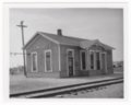 Atchison, Topeka and Santa Fe Railway Company depot, Lorraine, Kansas - 1
