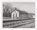 Atchison, Topeka and Santa Fe Railway Company depot, Lecompton, Kansas - 1