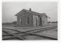 Atchison, Topeka and Santa Fe Railway Company depot, Lorraine, Kansas