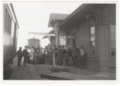 Atchison, Topeka and Santa Fe Railway Company depot, Holyrood, Kansas - 1