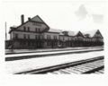 Atchison, Topeka & Santa Fe Railway Company depot, Fred Harvey House, and El Otero Hotel, La Junta, Colorado - 1
