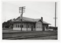 Atchison, Topeka and Santa Fe Railway Company depot, Spearville, Kansas