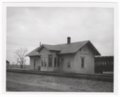 Atchison, Topeka & Santa Fe Railway Company depot, Saffordville, Kansas - 1
