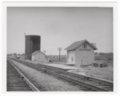 Atchison, Topeka and Santa Fe Railway Company box depot, Quenemo, Kansas