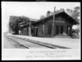 Atchison, Topeka and Santa Fe Railway Company depot, Manchester, Kansas
