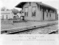 Atchison, Topeka & Santa Fe Railway Company depot, Liberty, Kansas - 4
