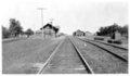 Atchison, Topeka and Santa Fe Railway Company depot, Burden,Kansas