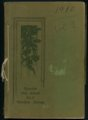 Mount Marty yearbook, 1910, Rosedale, Kansas - Cover