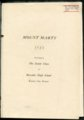 Mount Marty yearbook, 1925, Rosedale, Kansas - 1