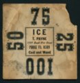 Ice weight card - Front