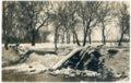 Photo of lower dam at Alma, Kansas Mill - front