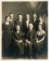 Palenske family at Burlington, Kansas - front