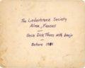 Liederkranz Society grand opening - back