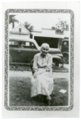 Photo of Bertha Eck of Alma, Kansas - front