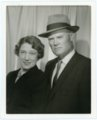 Portrait of Frank and Ada Laverty, Alma, Kansas - front