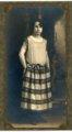 Studio portrait of Florence Palenske - front
