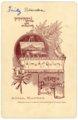 Fred Palenske cabinet card - back