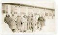 Motorcycle mechanics at Camp Funston, Kansas - front