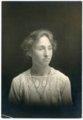 Studio portrait of Laura Palenske in High School - front