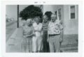 Palenske family in California - front