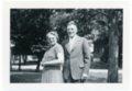 Martin and Minnie Zwanziger, Alma, Kansas - front