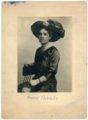 Studio portrait of Minnie Palenske Zwanziger - front