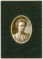 Cabinet card of Minnie Palenske