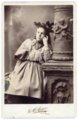 Cabinet card, Minnie Palenske