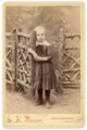 Cabinet card, Minnie Palenske