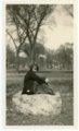 Florence Palenske in park - front