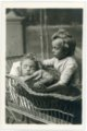 Minnie and Fred Palenske cabinet card - black and white print