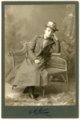 Minnie Palenske Zwanziger - cabinet card-front