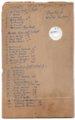Lecompton 3rd and 4th Grade, 1909, Lecompton, Kansas - Back