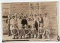 Greenwood Valley School District No. 24, 1928-1929, Lecompton township, Douglas County, Kansas - front