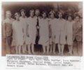 Lecompton 8th Grade Class 1926, Lecompton, Kansas - front