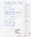 Lecompton 8th Grade Class 1926, Lecompton, Kansas - back