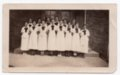 Lecompton High School Girls Glee Club, Lecompton, Kansas - front