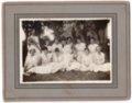 Lecompton High School Girls, Lecompton, Kansas - front