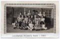 Lecompton Primary class, 1941, Lecompton, Kansas - front
