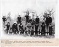 Lecompton High School Football Team 1916, Lecompton, Kansas - front