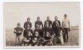 Lecompton High School Football team, 1930, Lecompton, Kansas - front