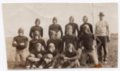 Lecompton High School Football team, 1930, Lecompton, Kansas - front