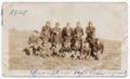 1929 Lecompton High School Football Team, Lecompton, Kansas - front