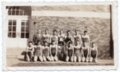 Lecompton High School 1942 Basketball Champions, Lecompton, Kansas - front