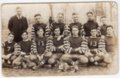 Lecompton High School Football Team, Lecompton, Kansas - front