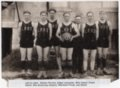 1927 Lecompton Rural High School Basketball team, Lecompton, Kansas - front